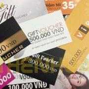 Thẻ bài - Voucher