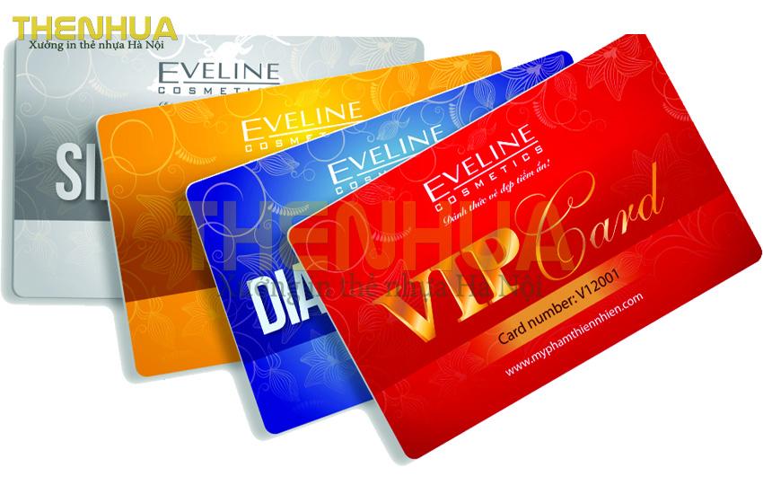 thiết kế thẻ nhựa Vip