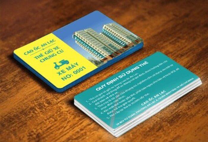 10 mẫu thẻ nhựa quản lý tòa nhà