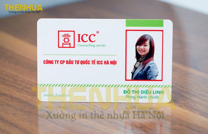 Thẻ nhựa đẹp của ICC