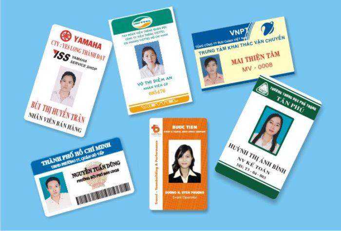 Sử dụng thẻ nhân viên công ty sẽ giúp quá trình quản lý nhân viên được dễ dàng hơn