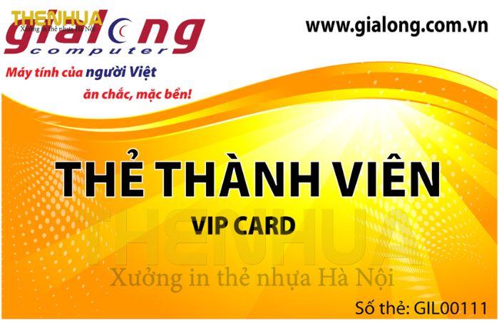 Vậy bạn có biết thẻ VIP làm bằng chất liệu gì là thích hợp nhất không?